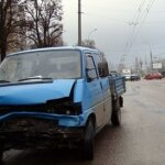 "В Бресте ""автокарамболь"" из-за ротозейства водителей (фото)"